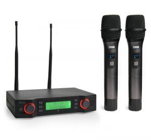Mikrofon Bezprzewodowy DNA VM – DUAL VOCAL SET