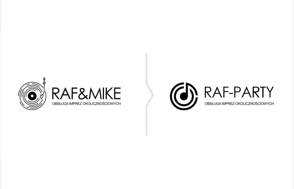 Szybki rebranding marki Raf&Mike na DJ Raf-Party